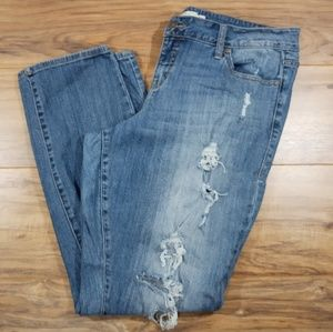 Torrid Boyfriend distressed jeans